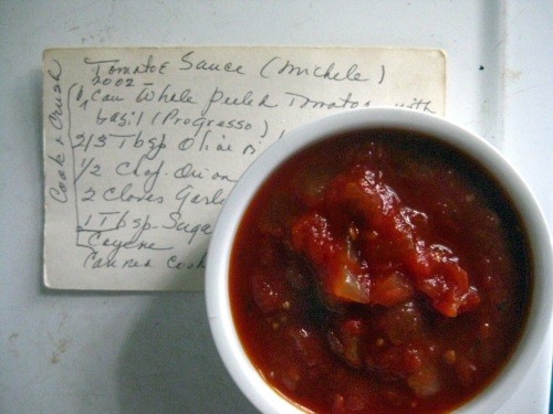 Michele's Tomato Sauce